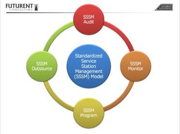 SSSM Model on FCS background
