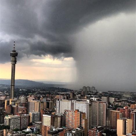 thunderstorm JHB